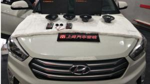 西安现代i×25汽车音响改装无损定制方案