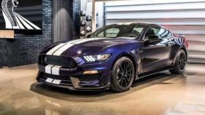 美国实拍福特谢尔比GT350,售价与国内Mustang持平