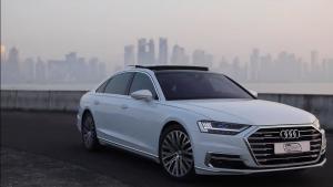 全新2019奥迪A8——高科技汽车的领衔者,从外到内的
