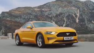 酷!2019款福特Mustang GT高性能跑车展示