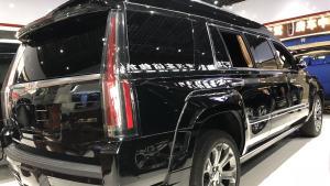 凯迪拉克总统一号彰显车内的至尊奢华凯迪+