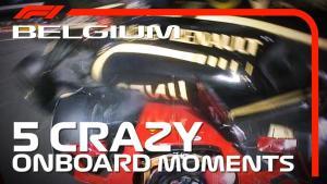 F1 历史课   比利时大奖赛 5 大疯狂车载镜头
