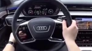 Audi A8自动驾驶系统