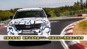 巴黎车展亮相  斯柯达高性能SUV—柯迪亚克RS预告图