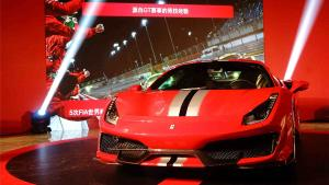 法拉利488 PISTA在广州有现车了