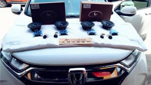 西安最新款本田CRV音响改装 尽情享受驾车乐趣