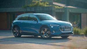 奥迪全新SUV全球首发,没有后视镜?明年将会引进国内
