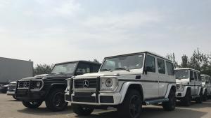 平行进口奔驰G级:G500、G550、G63、天津现车报价