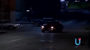 电影里的飙车 深夜与情人来一次互飚