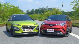 合资小型SUV新势力对决 现代昂希诺vs丰田C-HR