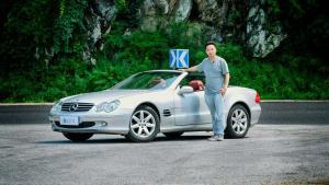十几万即可拥有,值得收藏的敞篷跑车——奔驰SL500