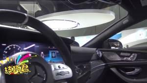 2019款奔驰AMG GT63首次亮相,动力残暴