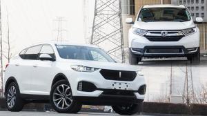 同为紧凑级SUV,WEY VV6拿什么敢跟东风本田CR-V竞争