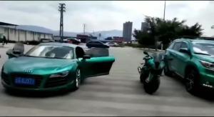 车身改色——超亮金属祖母绿