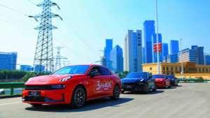 领克节油挑战赛在西安举行,百公里油耗1.92L