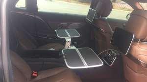 19款迈巴赫S450升级后排扶手四座折叠小桌板案例