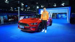 【2019广州车展】一台有故事的2.3T 实拍福特Mustang特别版
