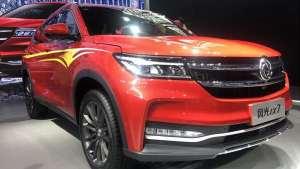 对标广汽丰田汉兰达,风光ix7广州车展正式上市