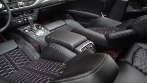 合正:奥迪a7内饰改装,搭配跑车型座椅,极致体验速度的快感