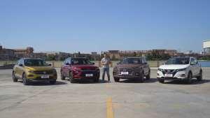 合资紧凑型SUV对对碰(下)谁更躁动谁更好开!