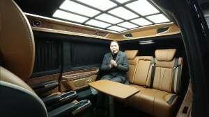 奔驰v级改装商务车 又出第6代了,奢华内饰带给你最尊贵享受。