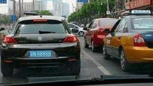 中国车牌号被禁用的两个字母,很多人都不知道