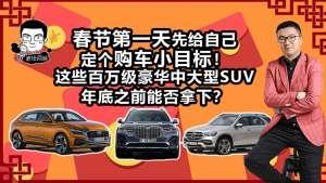 过年定个小目标!这几台豪华品牌中大型SUV值得选吗?