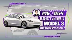 《萝卜小报告》特斯拉Model 3 聊聊驾驶感受到底怎样
