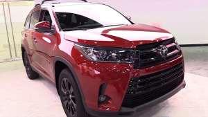 中型SUV里的标杆,2019款丰田汉兰达