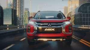 新款三菱劲炫ASX亮相了,会搭载2.0L动力和适时四驱
