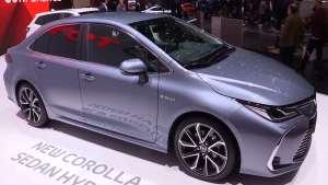 全新丰田卡罗拉Hybrid