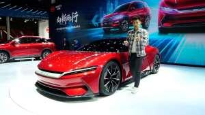 纽北跑得过它么? 上海车展瑞评比亚迪E-SEED GT跑车