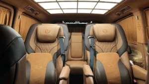 西安合正奔驰威霆改装内饰,商务车也能改成豪华座舱