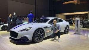 上海车展:阿斯顿马丁首款纯电动跑车Rapide E亮相