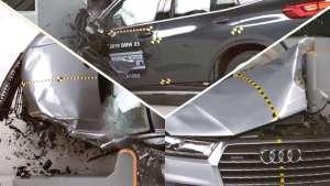 宝马X5、奥迪Q7、沃尔沃XC90碰撞测试对比