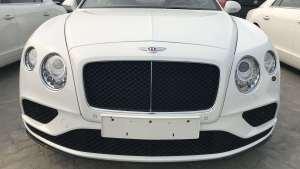 宾利全系现车经典车型18款宾利飞驰V8S现场实拍曝光