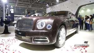 宾利慕尚加长版首次亮相福州五一国际车展