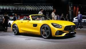上海车展——JK带你看AMG GT C Roadster