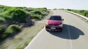 2020新款奔驰GLC Coupe最新动态 性感的车尾真是太帅