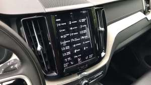 实拍:沃尔沃XC60乘客座椅调节功能演示,副驾驶移动