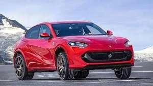轿跑风格全轮驱动,法拉利首款SUV Purosangue将亮相
