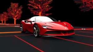法拉利开始玩混动 Ferrari SF90 Stradale动力总成