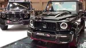 2019款巴博斯改装奔驰G900 V12 酷黑外观这才是真正的车神