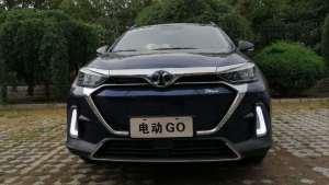 电动GO | 综合续航里程415公里,纯电动紧凑型SUV北汽新能源EX5