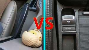 为何老司机不喜欢电子手刹?师兄详解2种手刹优劣,原因很简单