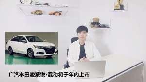 广汽本田凌派锐·混动将于年内上市