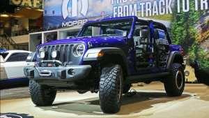原厂重磅打造 越野能力更强  Jeep牧马人特别版亮相