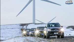 4个小伙伴4台旗舰SUV!带你领略冬季草原天路有何不同?