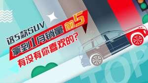 1月SUV销量排行榜前五:哈弗H6仍是销冠,奔驰GLC逆袭登榜