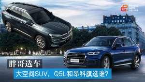 胖哥选车 想买大空间SUV,Q5L和昂科旗选谁?